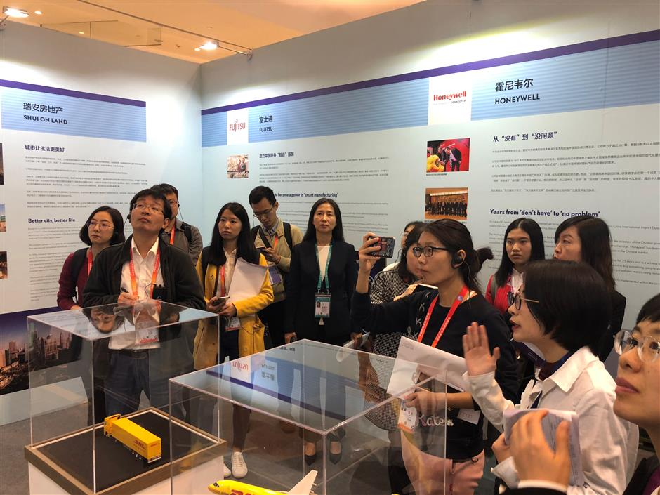 Exhibition tells companies' stories