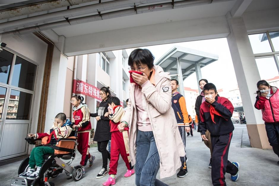 Fire drill to mark National Fire Prevention Day