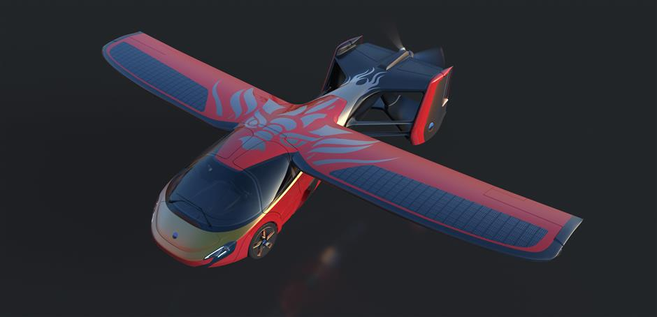 AeroMobil releases flying car specifically designed for China