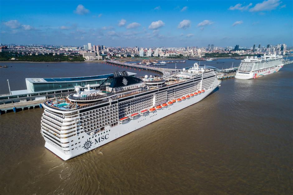 Cruise industry sailing at full steam ahead in Shanghai