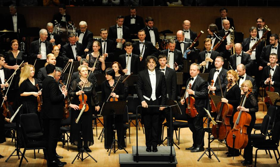 National Symphony Orchestra of Ukraine in town