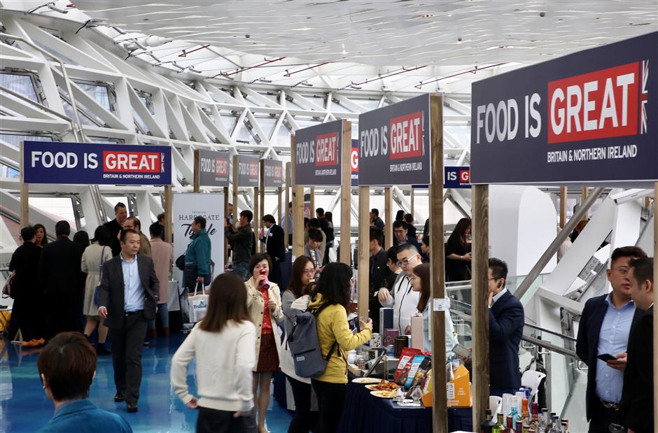 UK food and drink for special VIPs