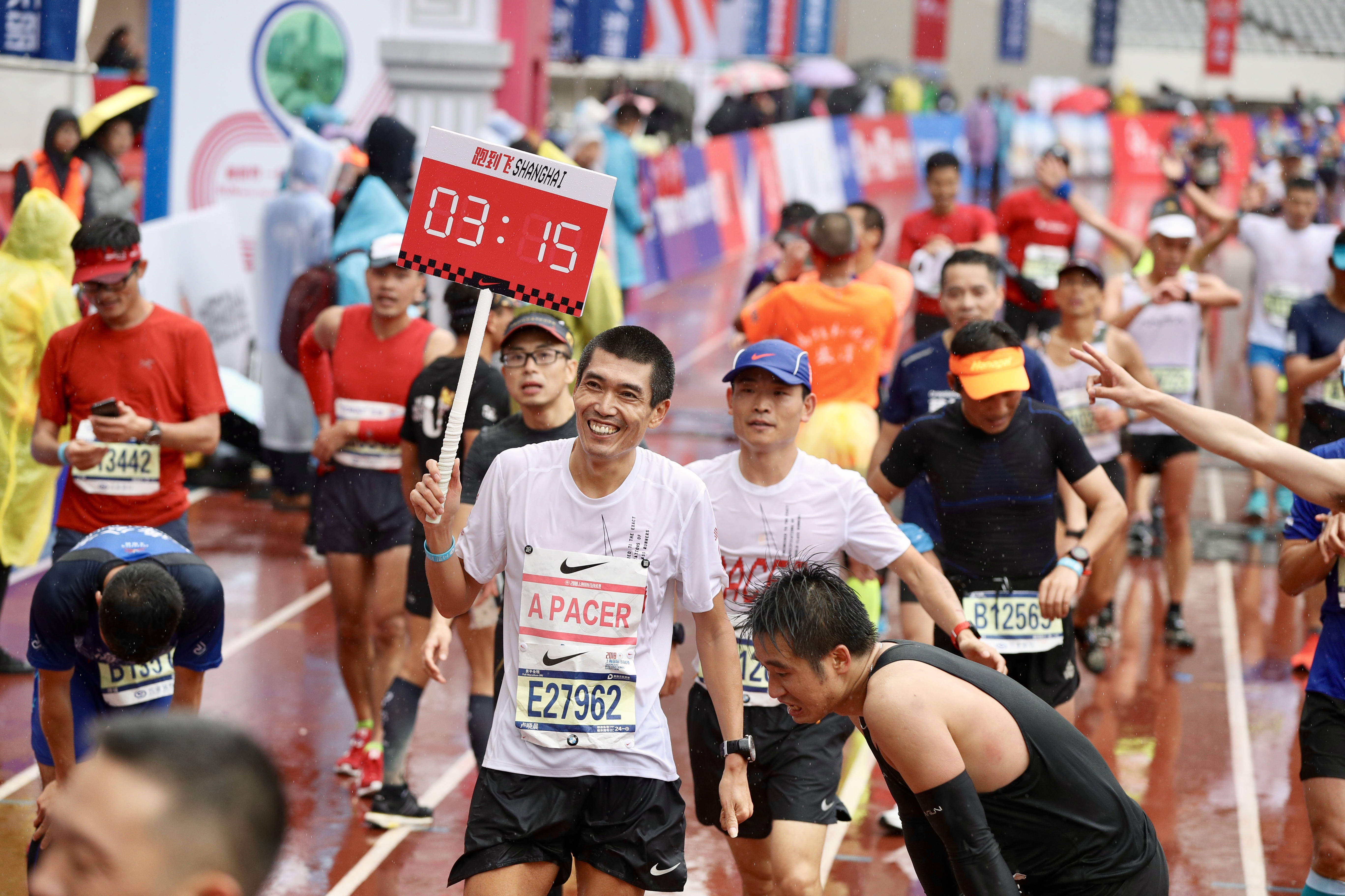 Ethiopian runner sets Shanghai women's marathon record