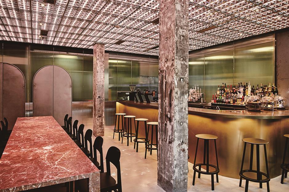 Momenti' captures Italian bar-cafe culture