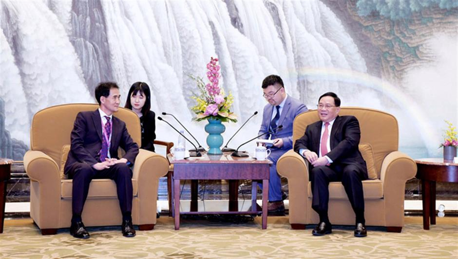 Shanghai Party chief pledges strong support for health and cosmetics industries