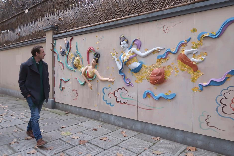 It's colorful, it's Belt and Road, but is it art?