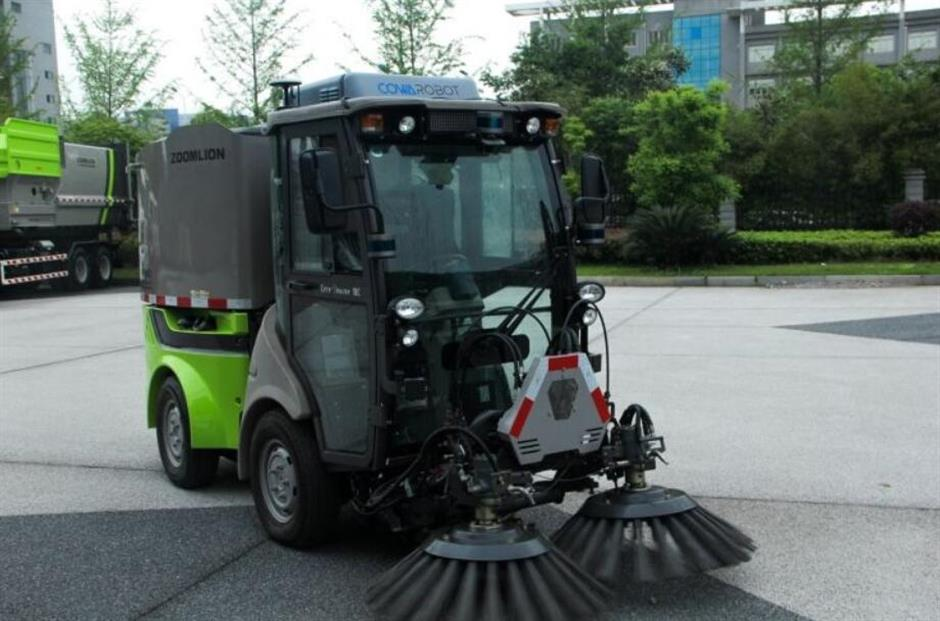 Driverless sweepers on the streets soon