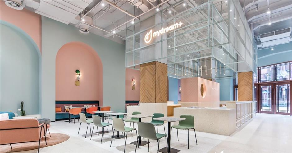 Historical building turned into co-working space