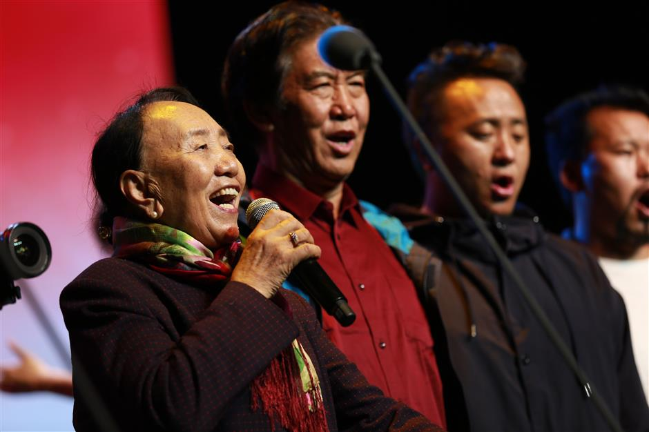 Tibetan vocalist wants to help others achieve their dreams