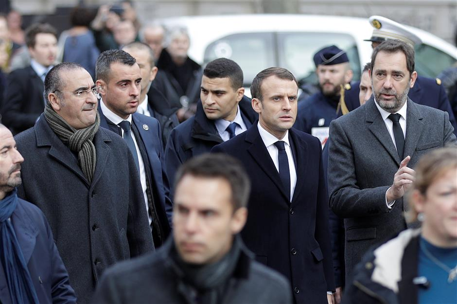 Haunted by 'Yellow Vests,' Macron seeks to get out of social uprising via risky moratorium