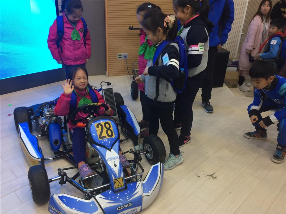 School kids may be on fast track to F1 glory