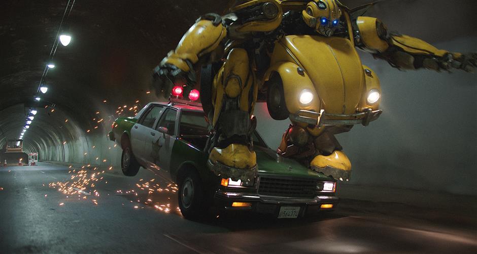 'Bumblebee' to buzz into cinemas across China on January 4