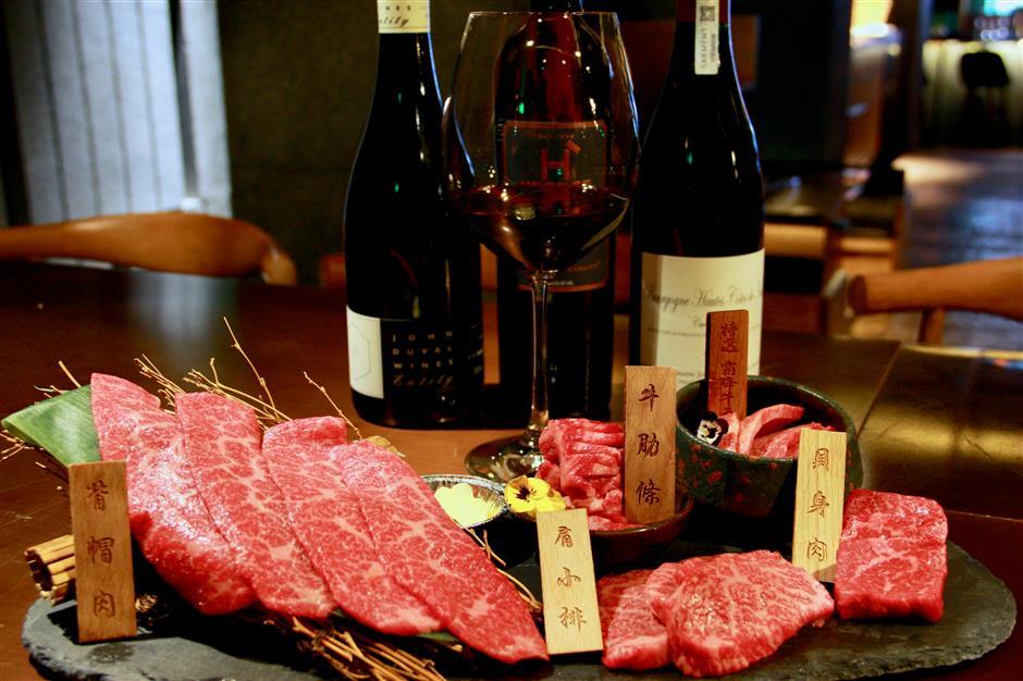 Kanpai's exalted food, wine pairing delight