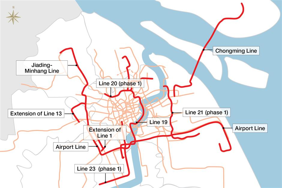 Chongming is in line for planned Metro extension