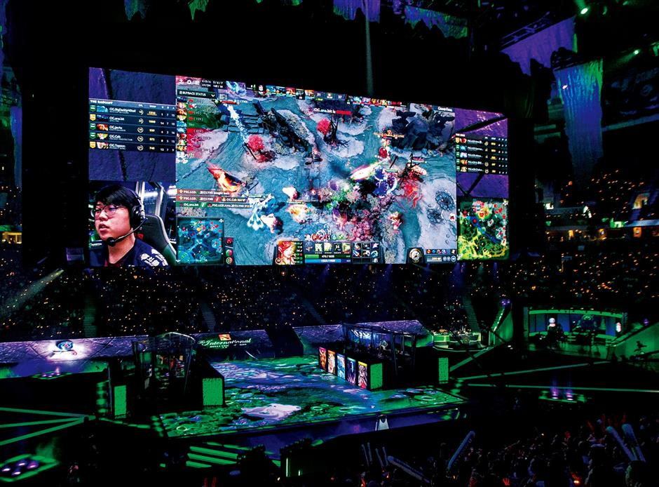 Pudong hosts world eSports event
