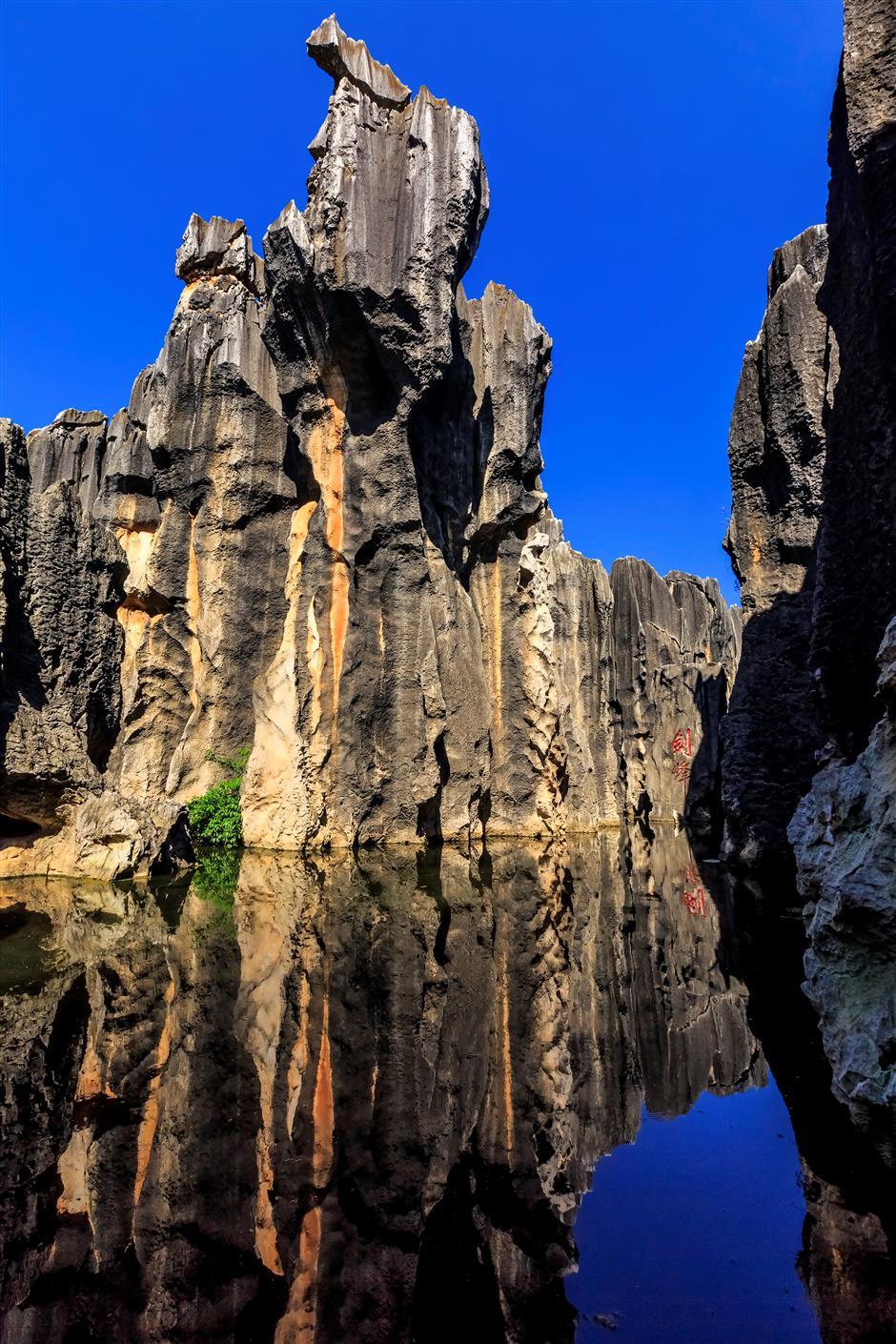 Stone Forest amazes visitors, inspires old legends