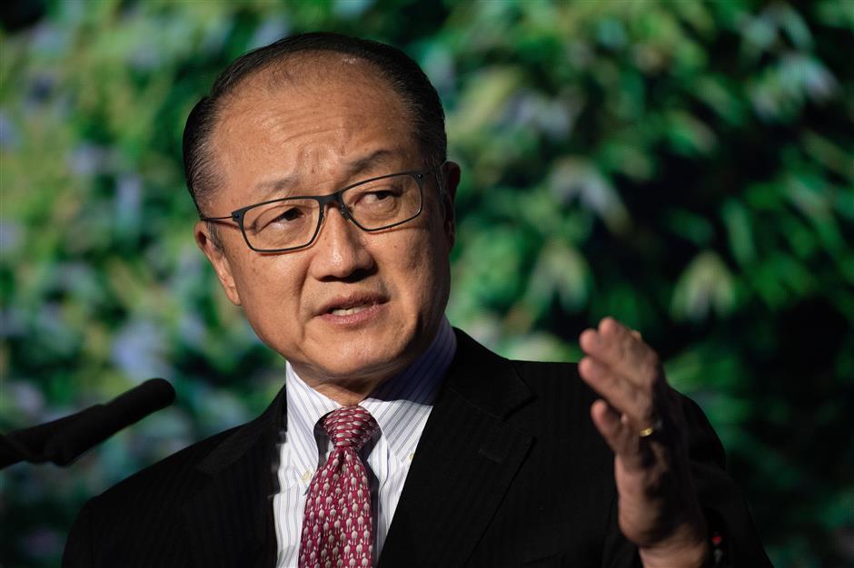 World Bank President Kim to step down on Febuary 1
