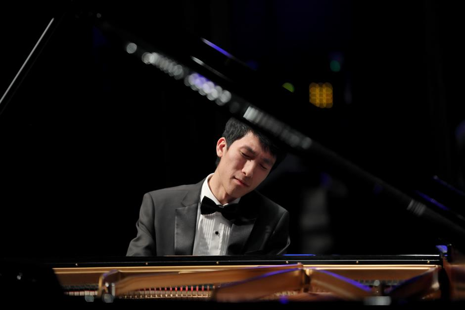 Heart and soul of a budding concert pianist