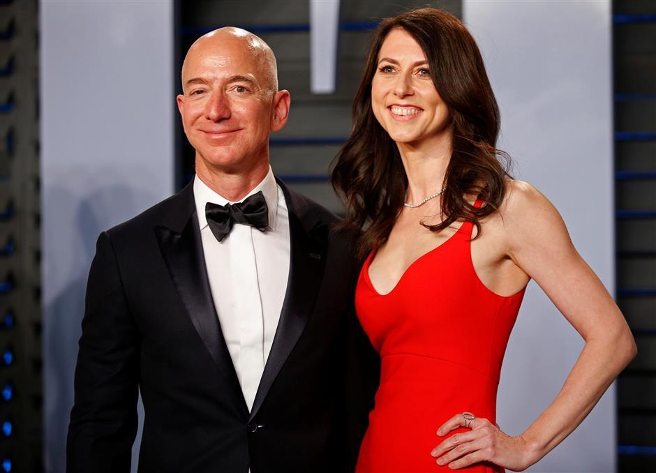 Amazon's Bezos, wife announce divorce
