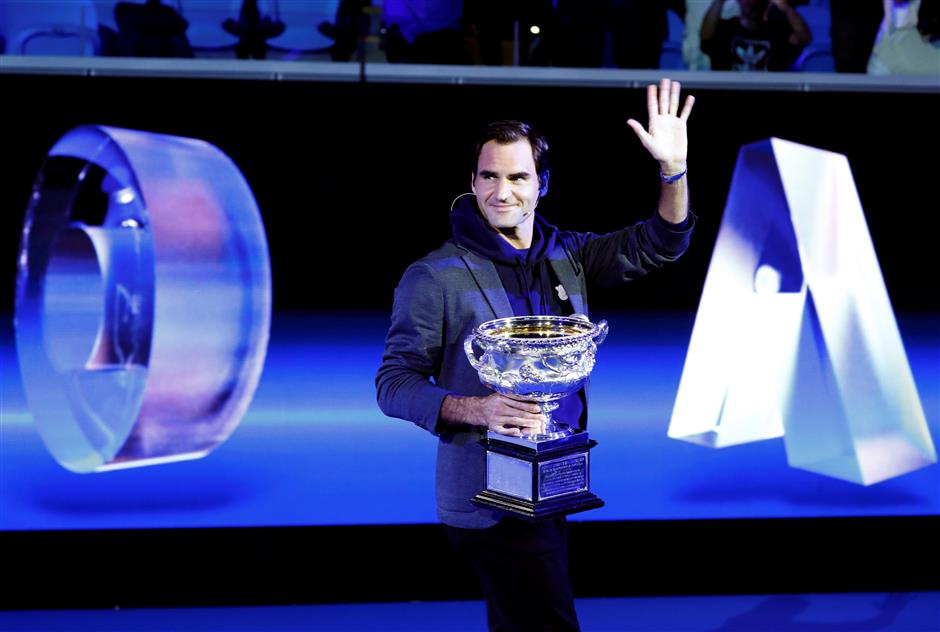 Djokovic, Federer on opposite sides of Australian Open draw
