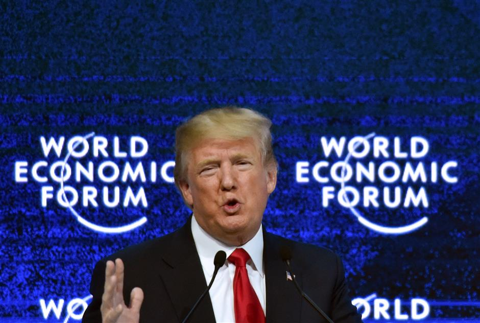 Trump cancels Davos trip as gov't shutdown continues