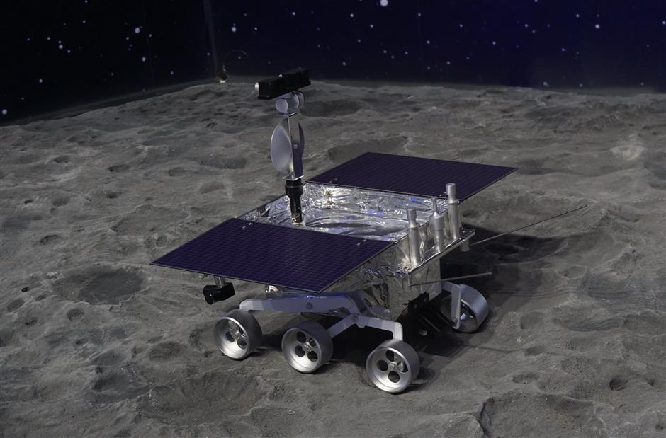 Space and friendship explored by lunar probe