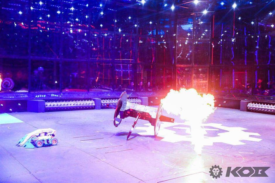 Fighting robots launch nationwide competition