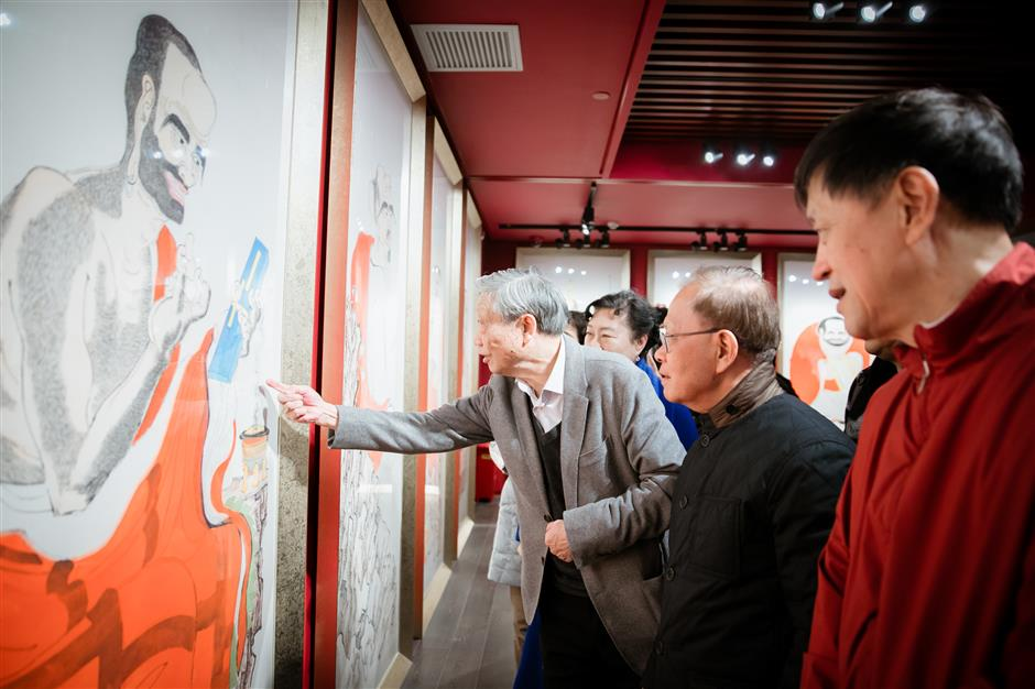 New art exhibition hall opens in city temple