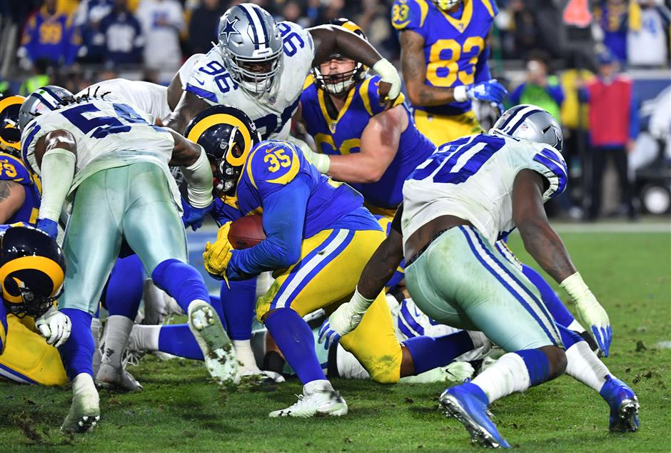 Chiefs at home for AFC Championship, Rams' NFC venue uncertain