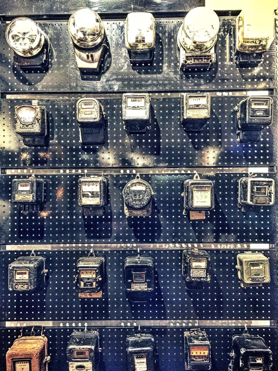 Electric meters, eclectic tastes define this collector - SHINE News