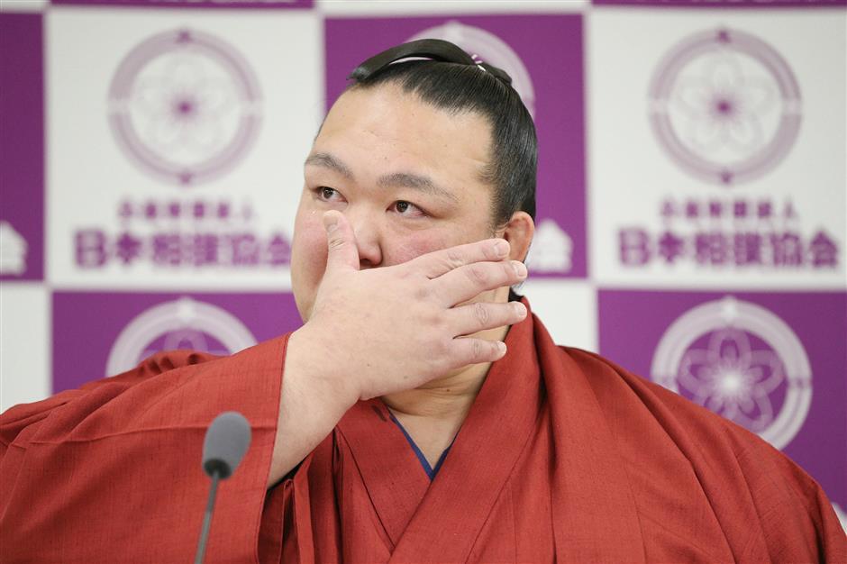 Injury-plagued grand champion Kisenosato retires