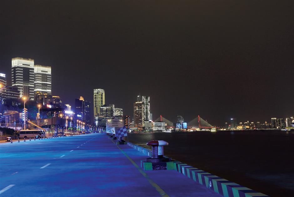 Illuminating Hongkou to shine a light on the historic past and 'Sail' toward brighter future