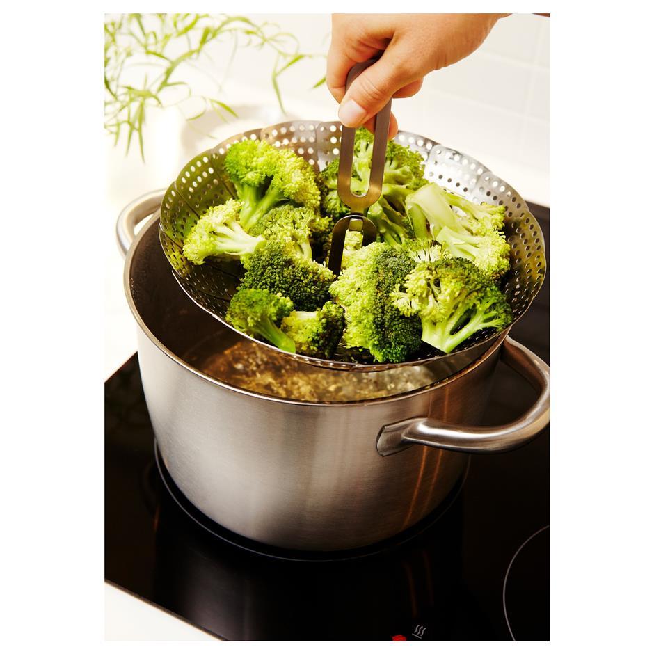 Full steam ahead for healthy food