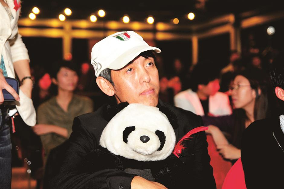Breaking down barriers with his Panda
