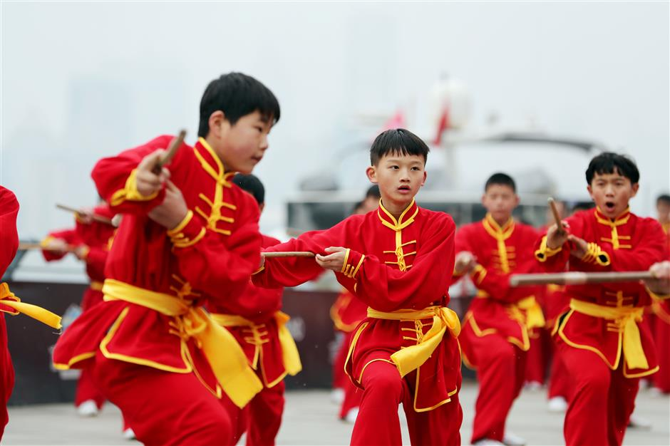Martial arts fans mark Chin Woo master's 150th birthday in Shanghai