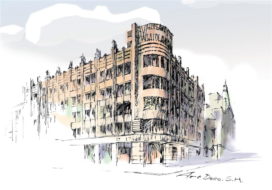 Restoring the Art Deco of Shanghai's foremost department store