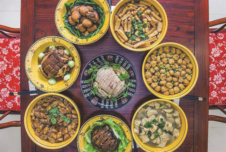 Traditional dishes give you a taste of history