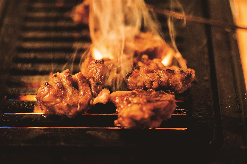 Japanese dining in an intimate, subdued ambience