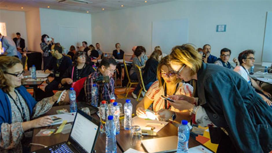 The Global Search for Education: European Online Community Promotes Collaborative STEM Education