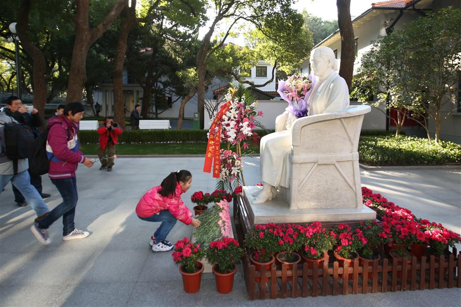 Memorial to Soong reopens on anniversary