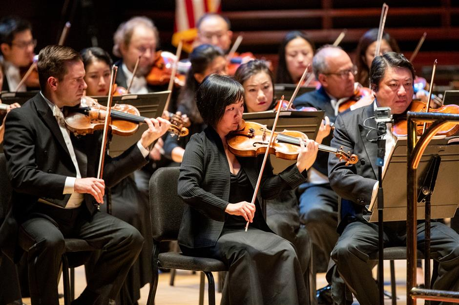 Shanghai, Philadelphia orchestras in tune with Chinese New Year concert