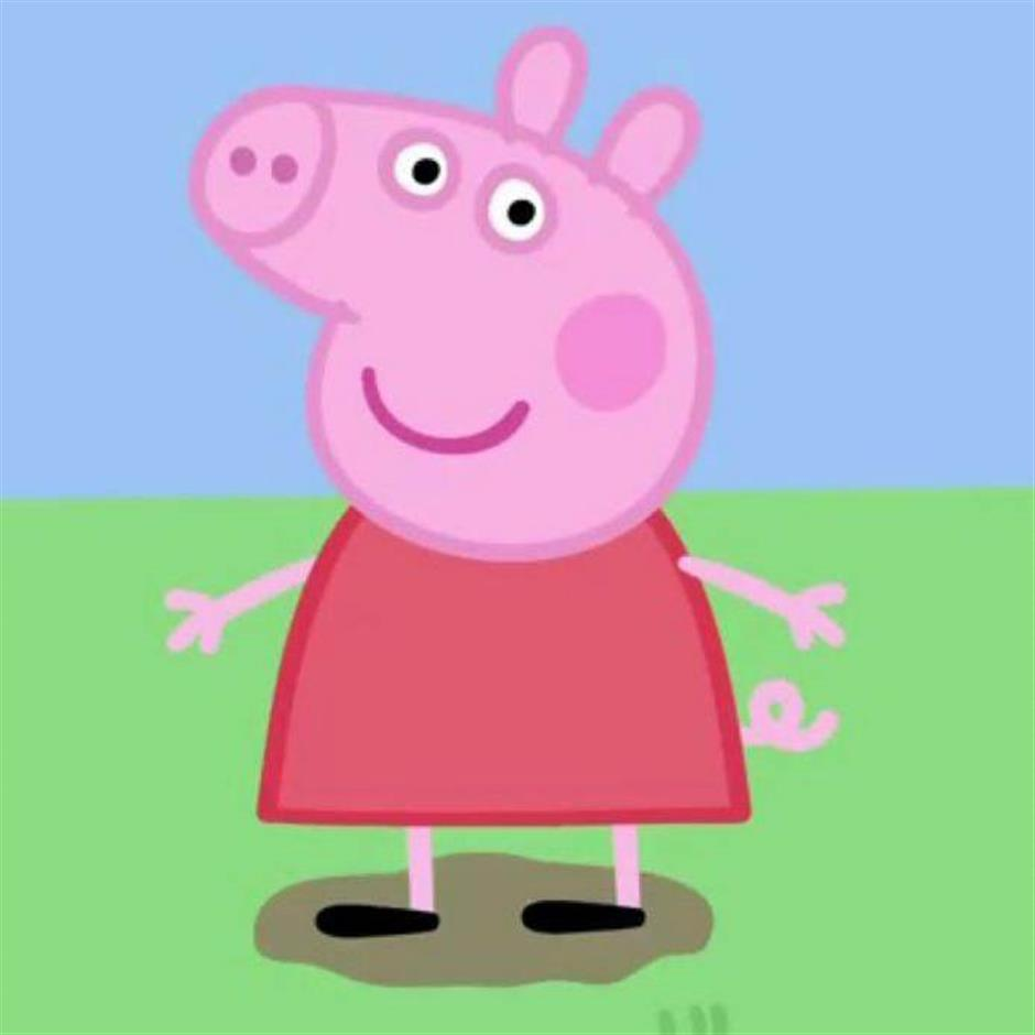 Peppa goes viral to usher in Chinese Year of the Pig