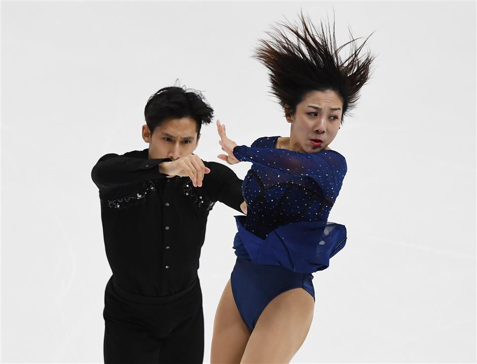 China's Sui/Han win pairs title at Four Continents Figure Skating Championships