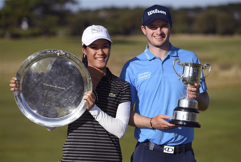 Scot Law, France's Boutier triumph at Vic Open
