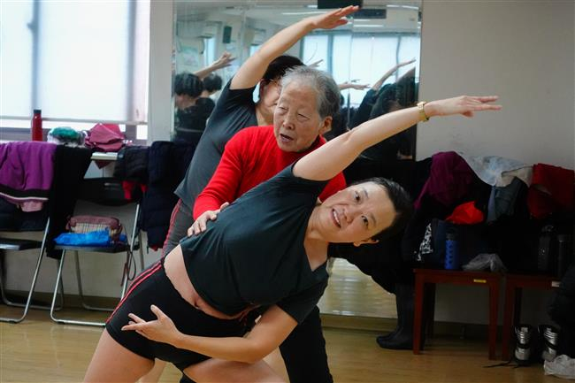 The dance never stops: Granny fitness club finds new home