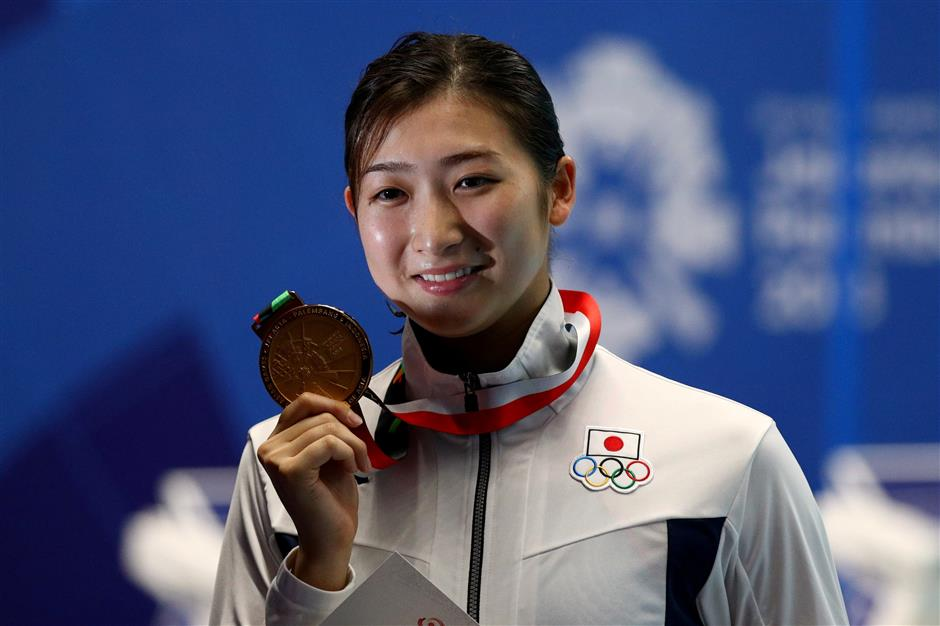 Japanese swimming star Ikee diagnosed with leukemia