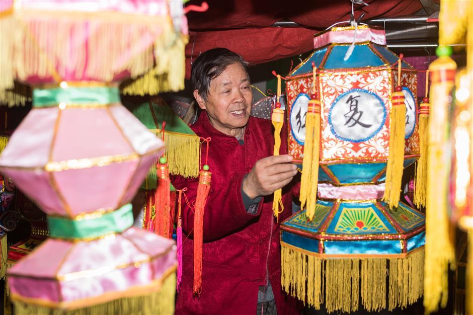 Heritage lanterns to light up festival night in Baoshan