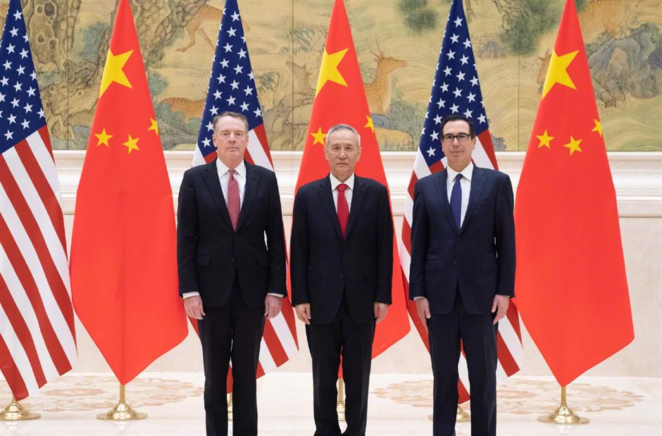 New round of China-US trade talks starts in Beijing