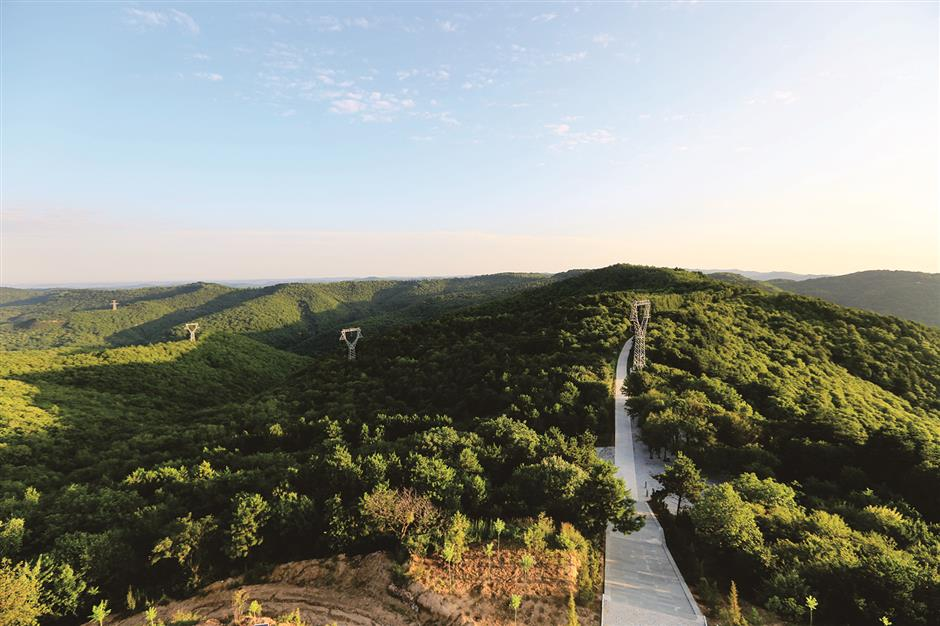 Qin Dynasty's ancient highway