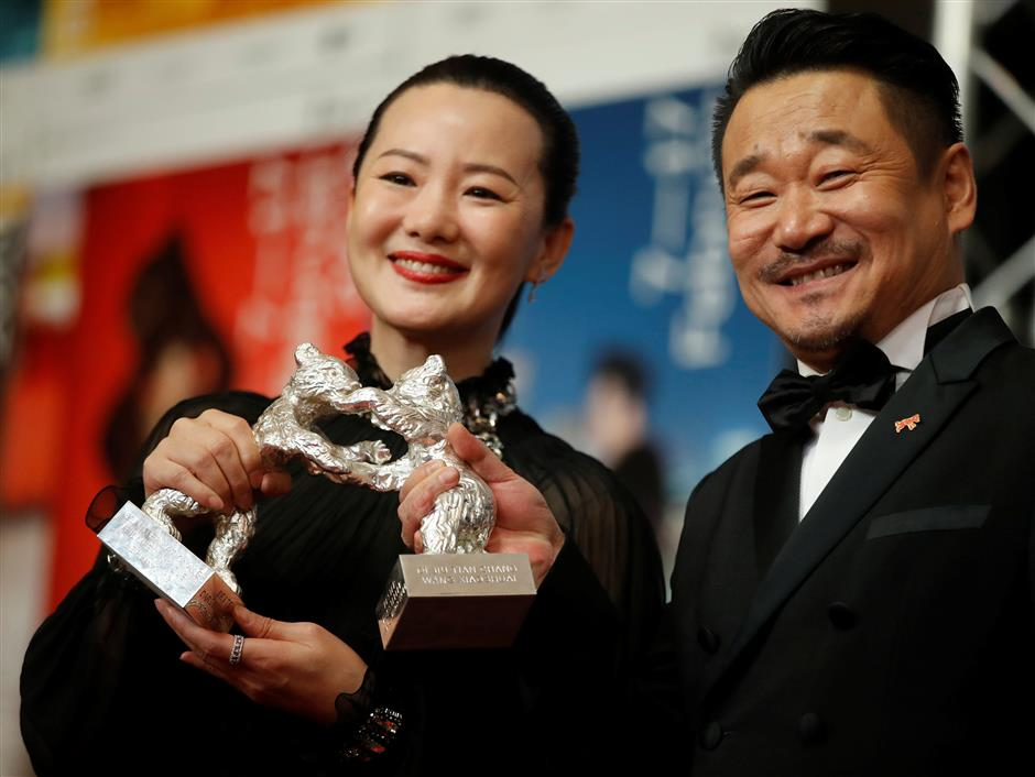 Chinese stars of epic drama win acting prizes at Berlin Film Festival
